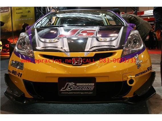 กันชนหน้าเต็ม Jazz GE 2011 Minor Change ทรง JS Racing