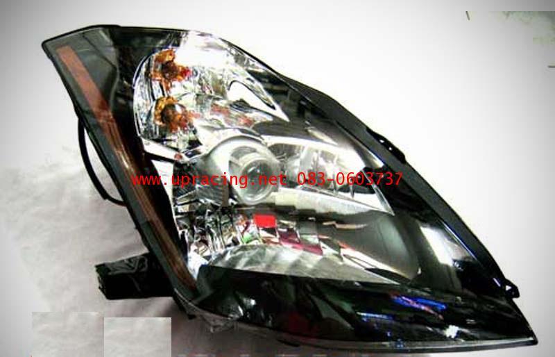 ไฟหน้าโปรเจคเตอร์ NISSAN 350Z 03-08 ดำ