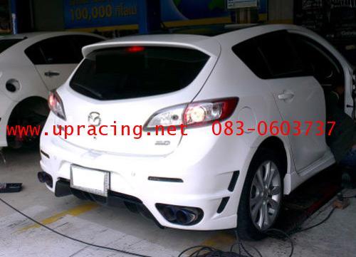 กันชนหลัง Mazda3  2012 ทรง GT