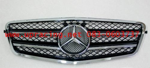 กระจังหน้า สำหรับ W212 ทรง AMG-Look สีดำ