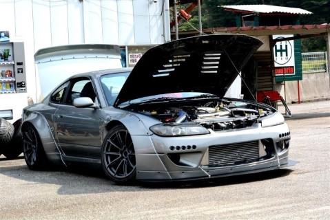 ชุดแต่งรอบคัน  Silvia (S15)ทรง rocket bunny 2