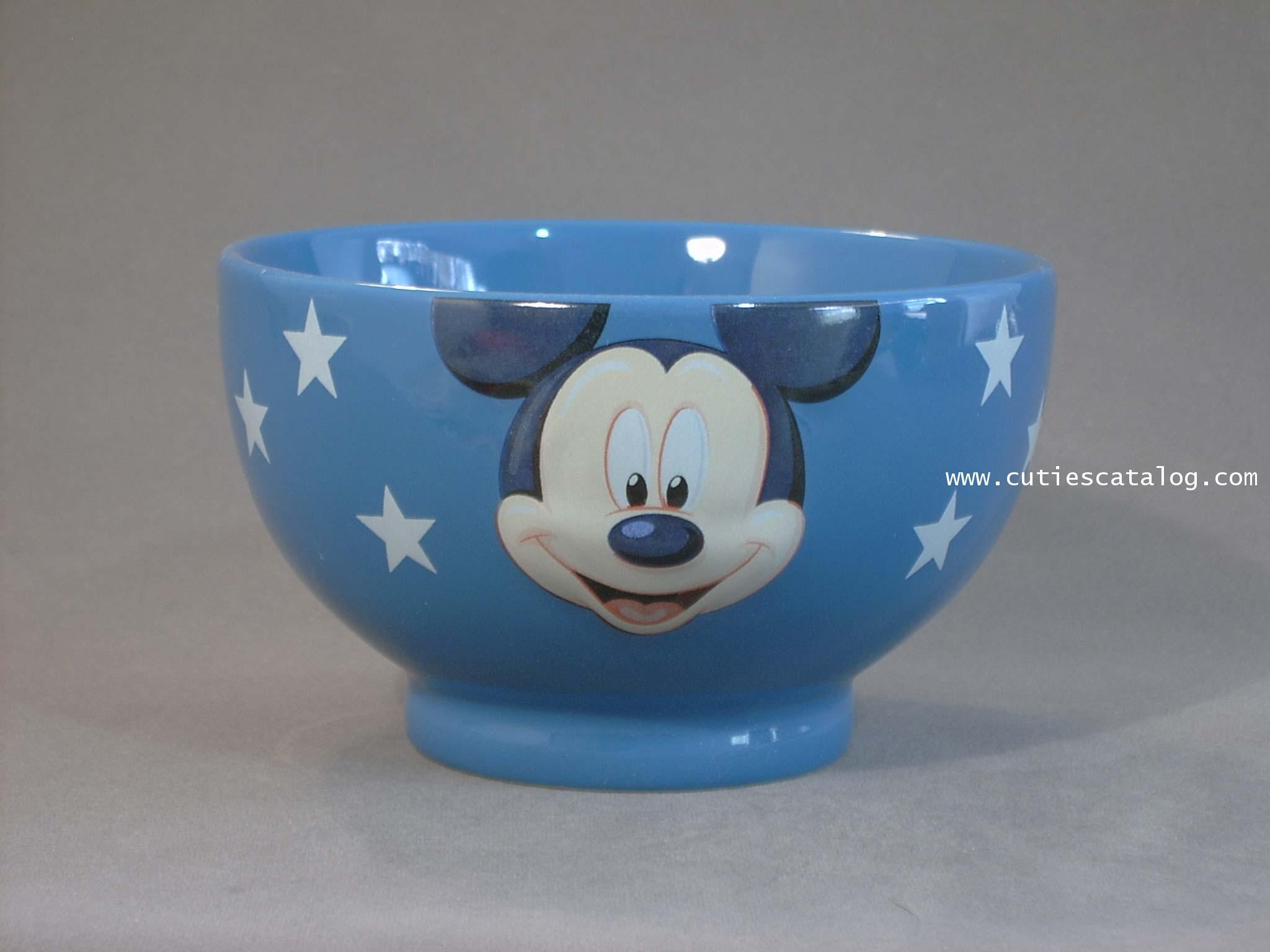 ชามดิสนีย์ ชุดลายหน้าใหญ่ ลายมิคกี้(mickey face bowl)