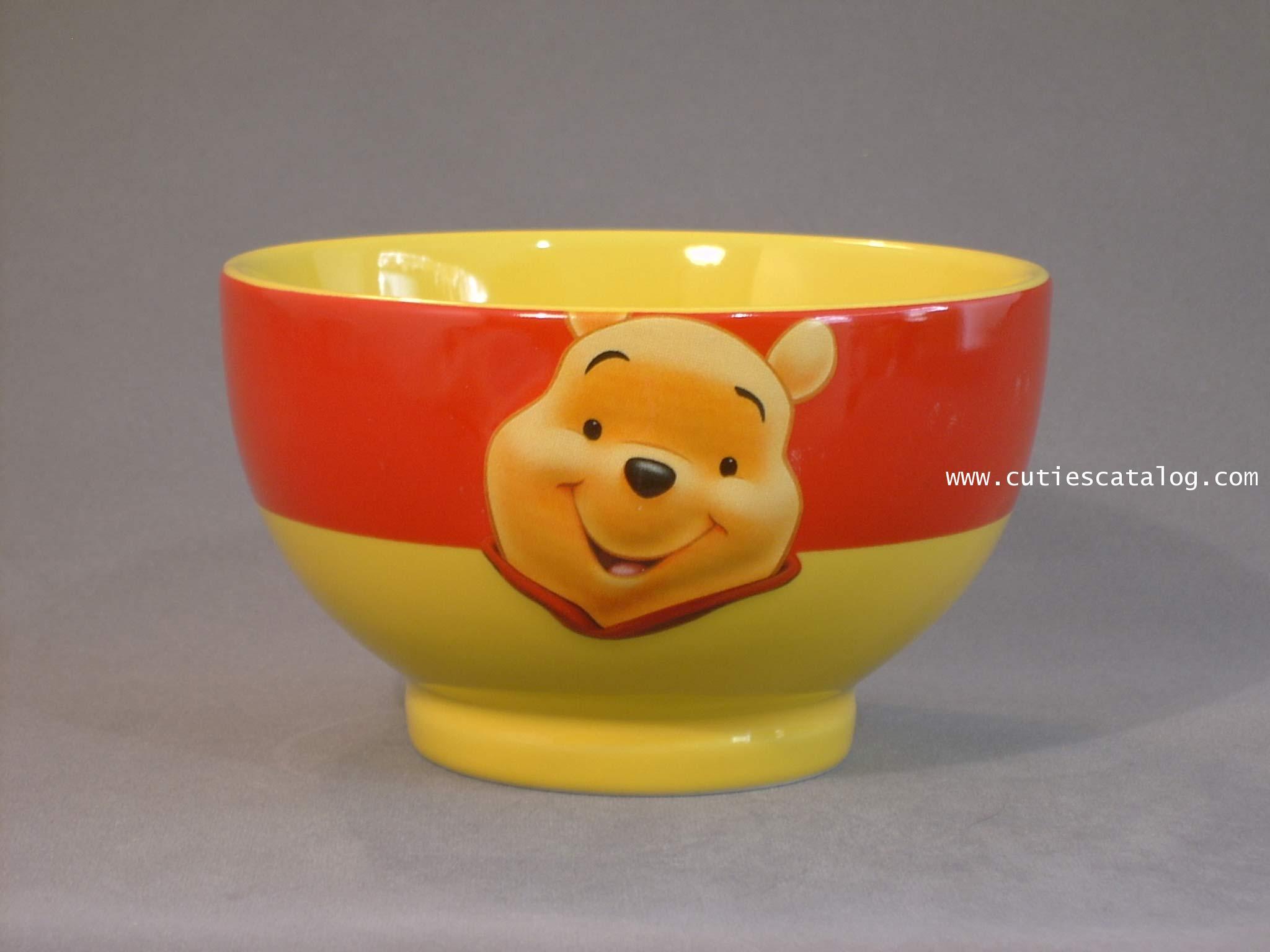 ชามดิสนีย์ ชุดลายหน้าใหญ่ ลายหมีพูห์(pooh face bowl)