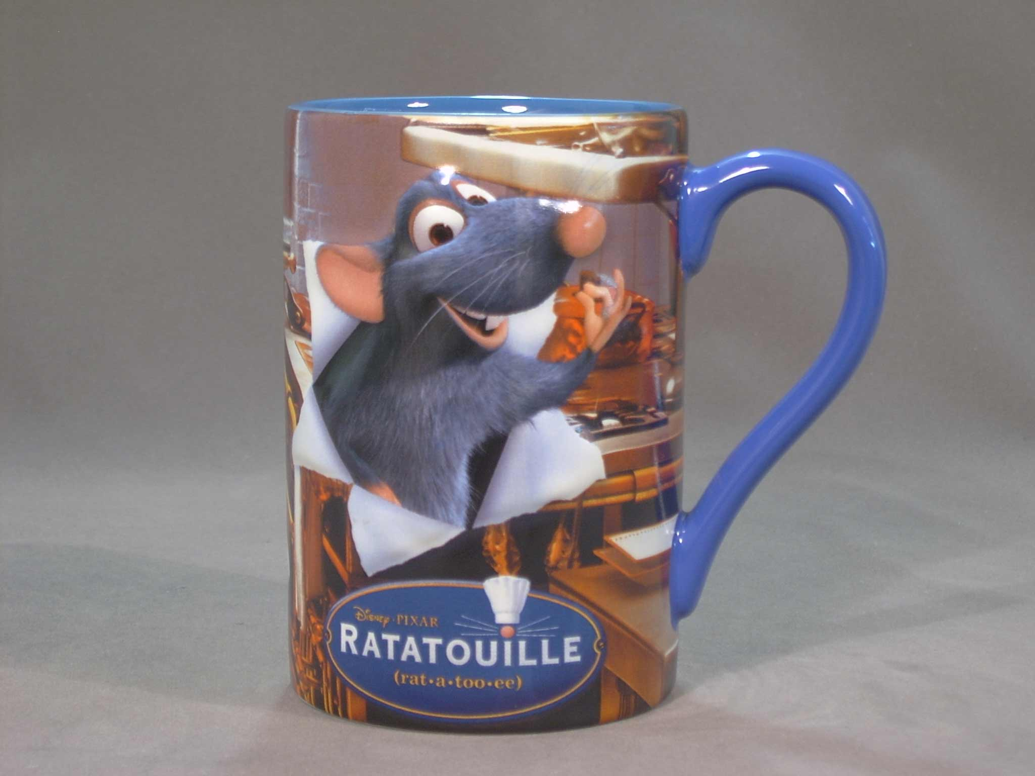 แก้วดิสนีย์ ลายพ่อครัวตัวจิ๋วหัวใจคับโลก(Ratatouille)