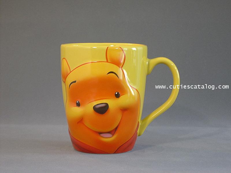 แก้วดิสนีย์ชุดลายหน้าใหญ่ ลายหมีพูห์(pooh)