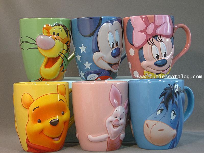 แก้วเซรามิดดิสนีย์ ชุดลายหน้าใหญ๋(disney mug : face set)