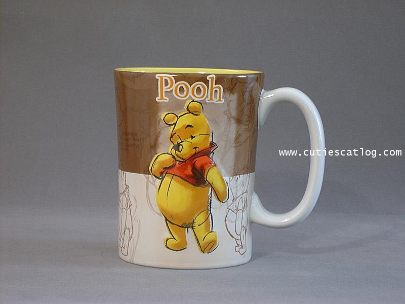 แก้วดิสนีย์ ชุดลายเส้น ลายหมีพูห์(pooh)
