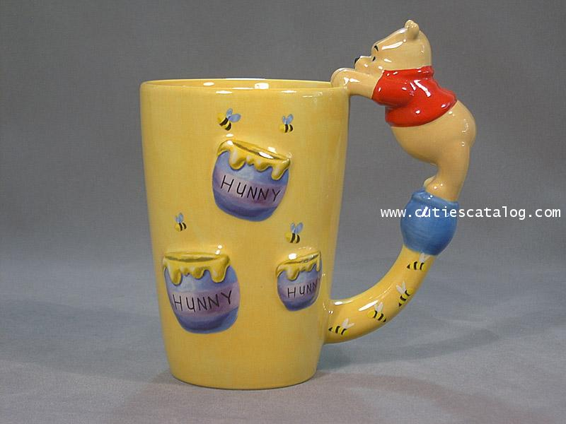 แก้วดิสนีย์ ชุดเกาะแก้ว ลายหมีพูห์(Pooh)