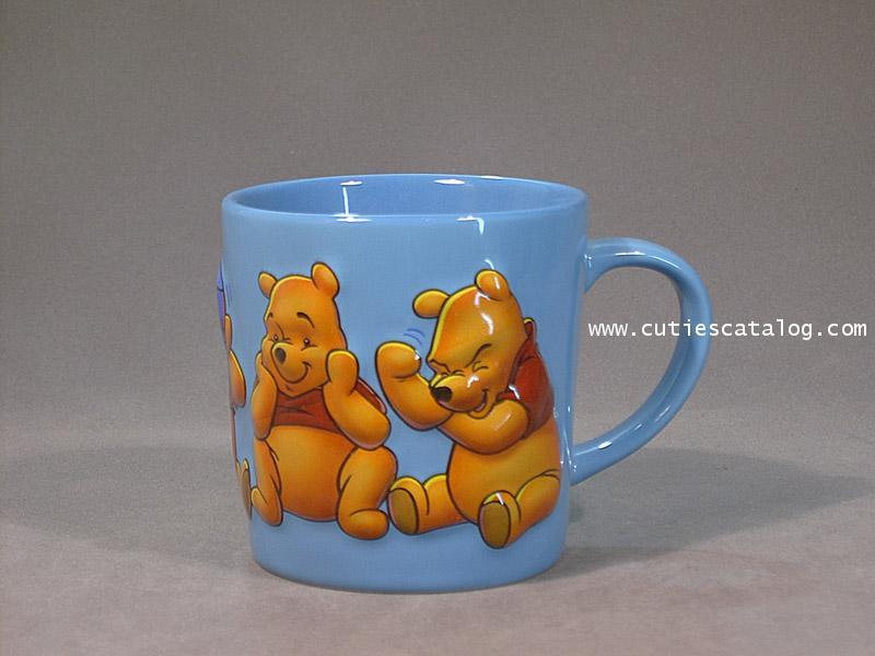 แก้วดิสนีย์ ชุดฮ่องกง ลายหมีพูห์(pooh)