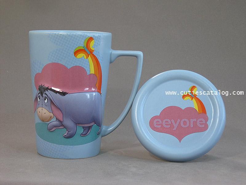 แก้วดิสนีย์ ชุดมีฝาปิด ลายอิยอร์(eeyore cover mug)