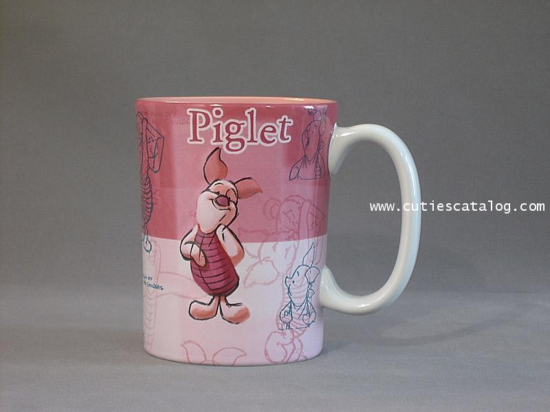 แก้วดิสนีย์ ชุดลายเส้น ลายพิกเลท(piglet)