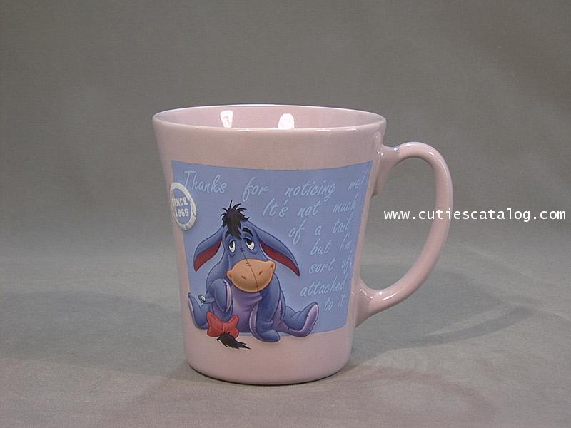 แก้วเดิสนีย์ ชุดพาสเทลเล๊ก ลายอียอร์(Eeyore)