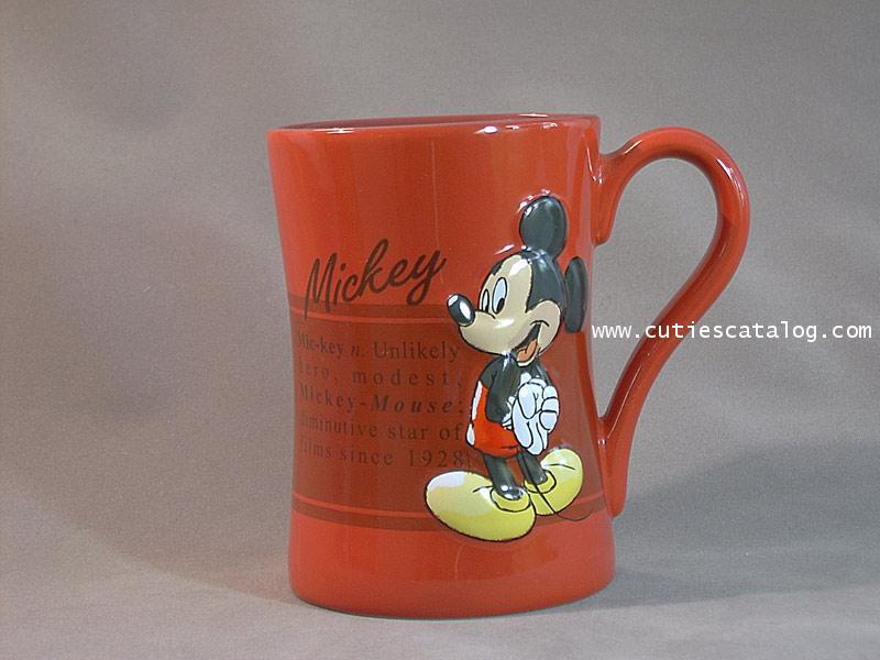 แก้วดิสนีย์ ชุดมีนนิ่ง ลายมิคกี้(mickey)