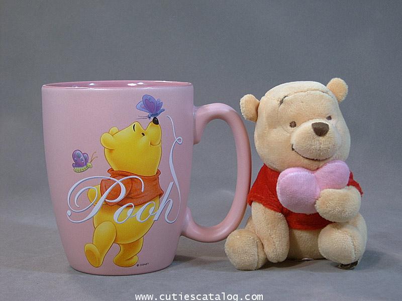 แก้วหมีพูห์ พร้อมตุ๊กตา(Pooh mug with doll)