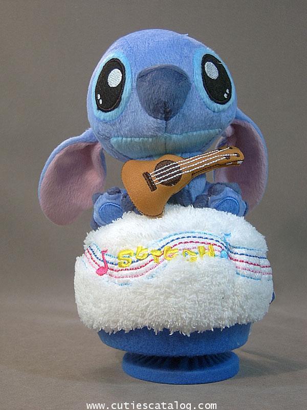 ตุ๊กตาสติช กล่องดนตรี ถิอกีตาร์ (Stitch Doll and Music)