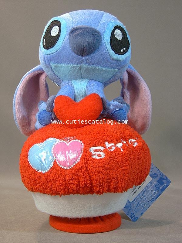 ตุ๊กตาสติช กล่องดนตรี ถิอหัวใจ(Stitch Doll and Music)