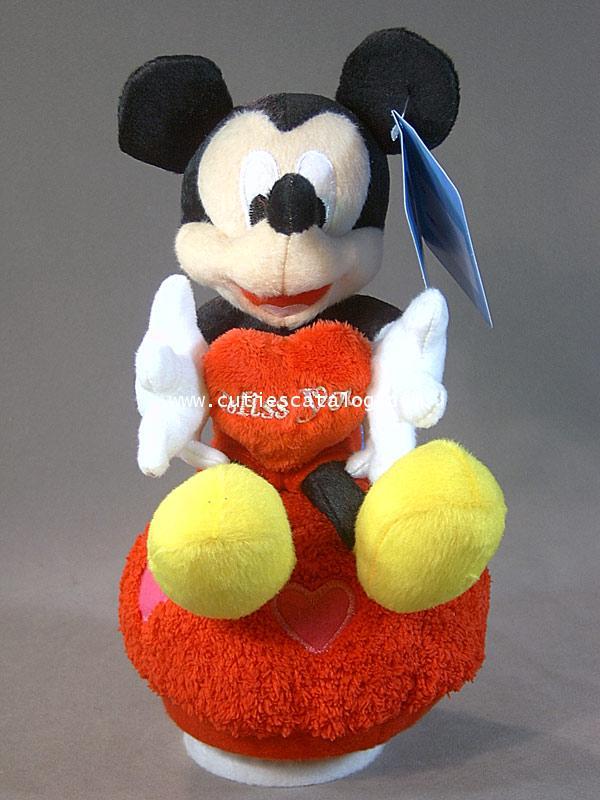 ตุ๊กตามิคกี้ กล่องดนตรี ถิอหัวใจ(Mickey Doll and Music)