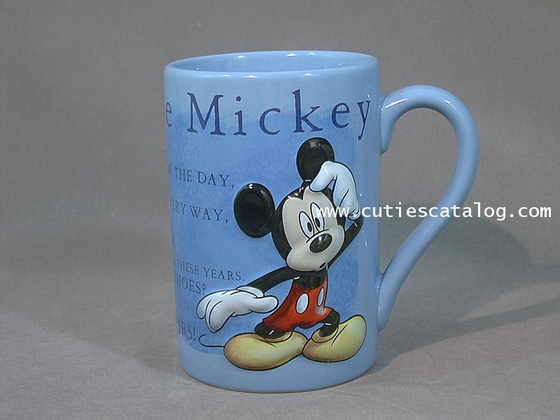 แก้วดิสนีย์ ชุดนูนใหญ่ ลายมิคกี้(Mickey)