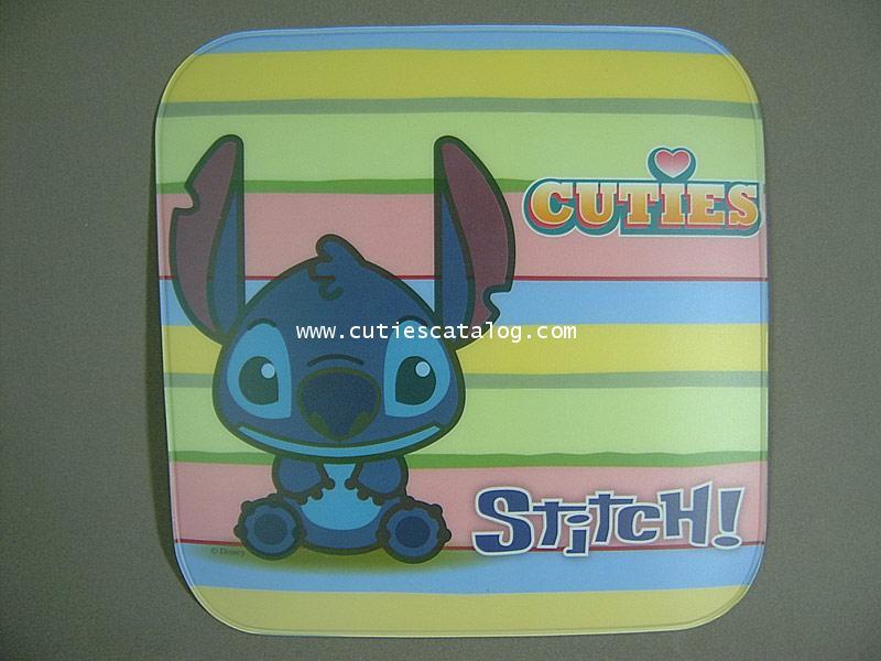 แผ่นรองเมาส์ ลายสติช(Stitch mouse mat)