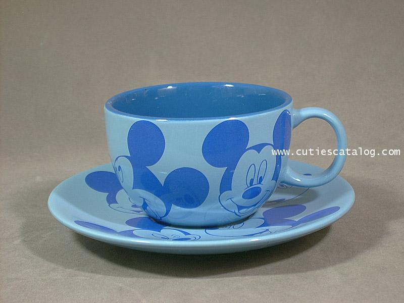 แก้วกาแฟดิสนีย์พร้อมจานรอง ลายมิคกี้(Mickey)