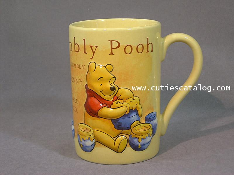 แก้วดิสนีย์ ชุดนูนใหญ่ ลายหมีพูห์(pooh)