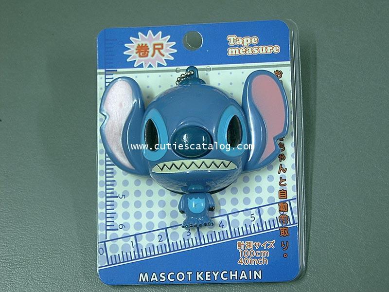 พวงกุญแจตลับเมตรสติช Stitch Mascot Keychain