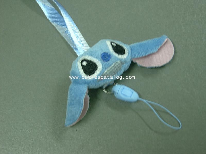 สายห้อยคอสติช Stitch แบบหัวตุ๊กตา