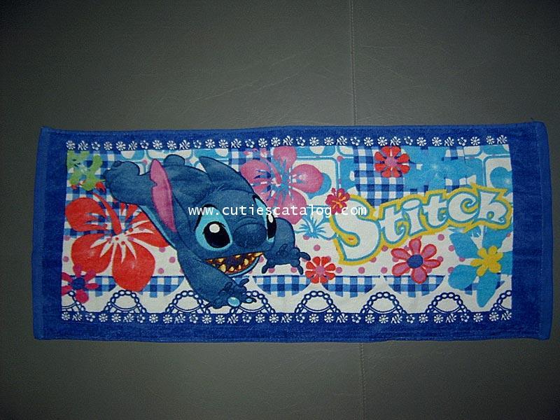 ผ้าเช็ดหน้าสติช Stitch small towel