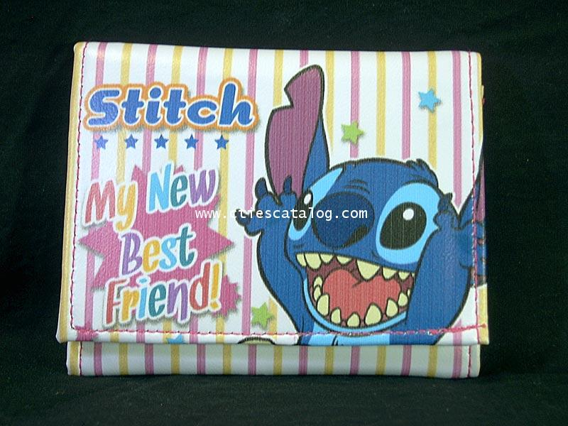 กระเป๋าสตางค์สติช Stitch wallet แบบที่ 2