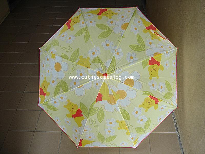 ร่มลายหมีพูห์ Pooh umbrella แบบที่ 3