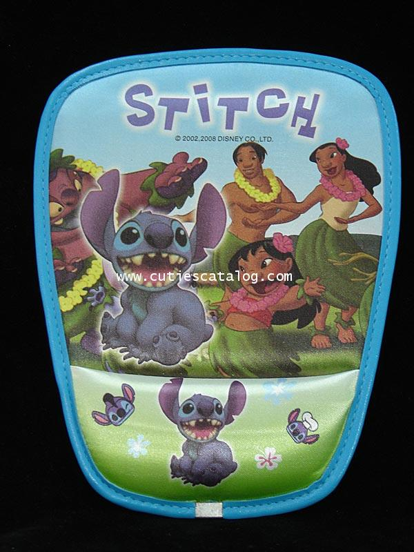 แผ่นรองเมาส์สติช พร้อมที่รองข้อมือ Stitch mouse mat/holder