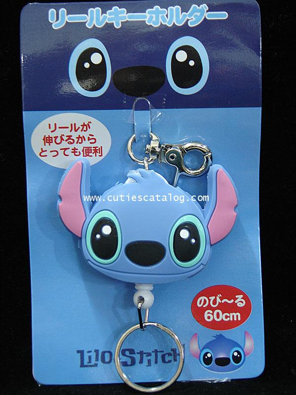 พวงกุญแจสติชแบบดึงกลับ Stitch