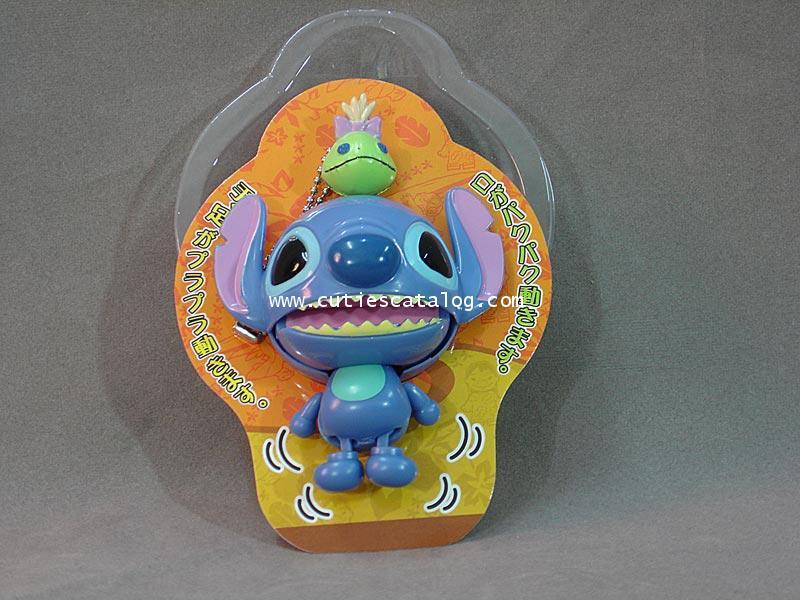 พวงกุญแจสติช/ของเล่นดิ้นได้ Stitch mascot keychain แบบ 1
