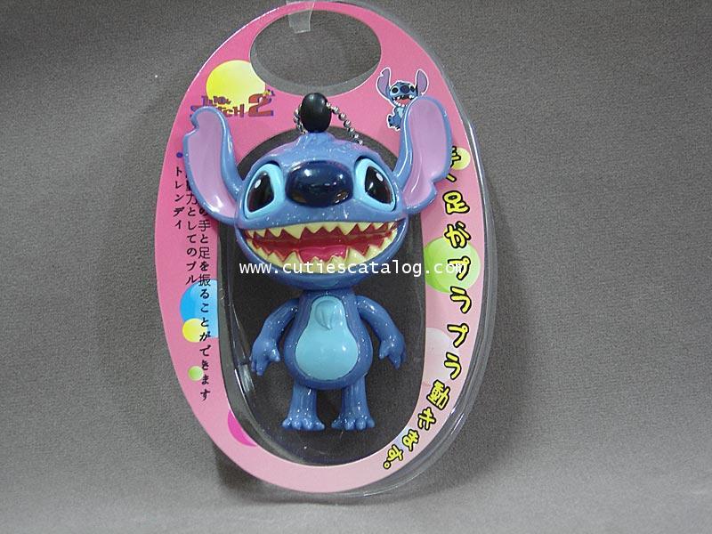 พวงกุญแจสติช/ของเล่นดิ้นได้ Stitch mascot keychain แบบ 2