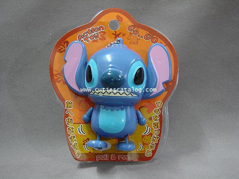 พวงกุญแจสติช/ของเล่นเดินได้ Stitch mascot keychain แบบ 3