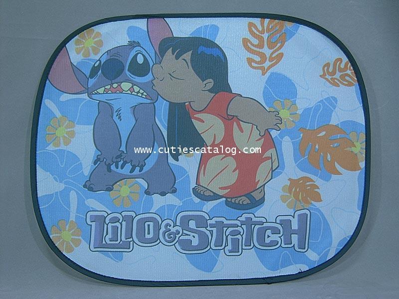 บังแดดสติช Stitch ด้านข้าง แบบ 1