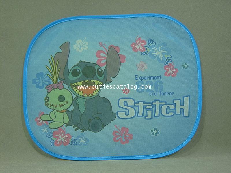บังแดดสติช Stitch ด้านข้าง แบบ 3