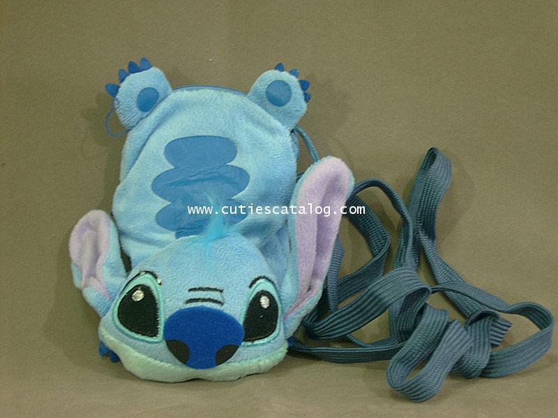 กระเป๋าห้อยคอสติทช Stitch แบบ 2