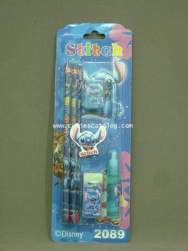 ชุดดินสอสติช Stitch pencil set