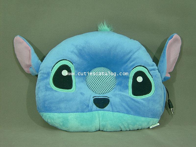 หมอนลำโพงสติช Stitch speaker cushion