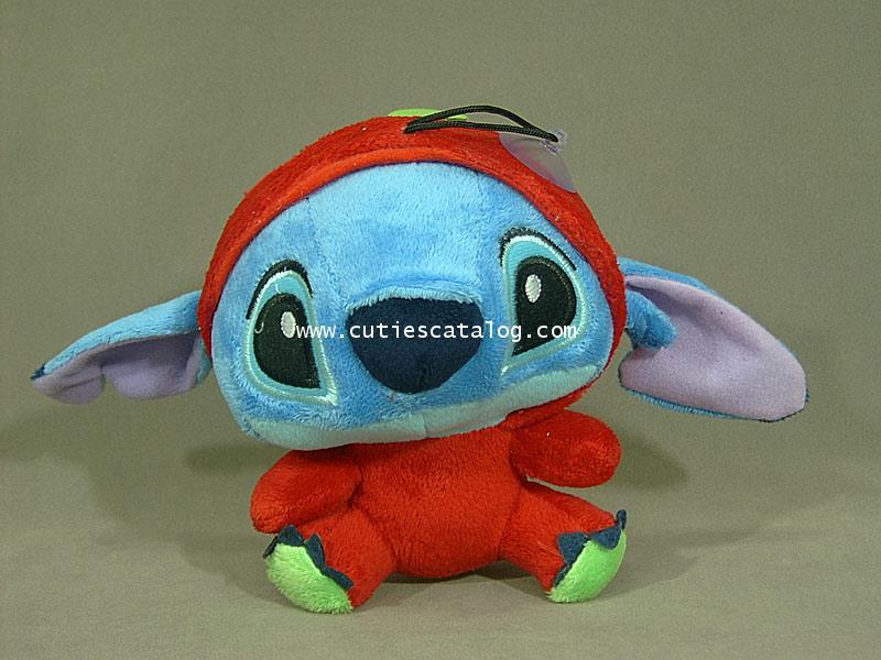 ตุ๊กตาสติช ชุดผลไม้ ใส่เสื้อผลเชอรี่ Stitch doll