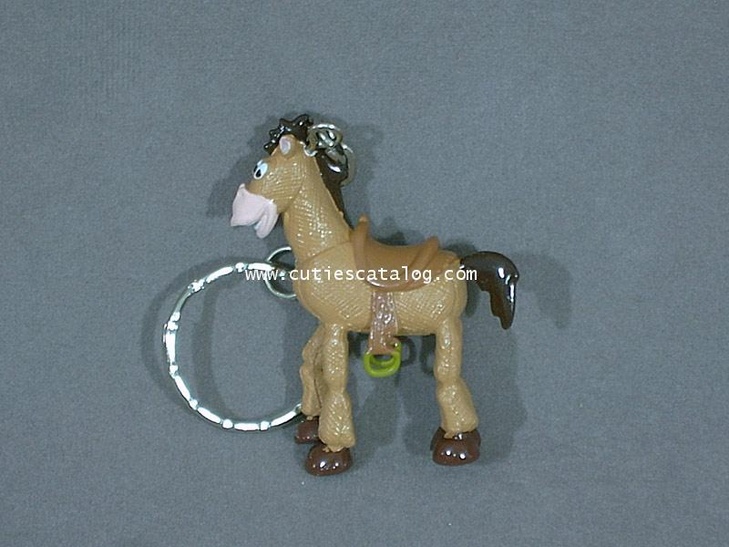 พวงกุญแจตุ๊กตาม้าบูลส์อาย Bullseye @ Toy story