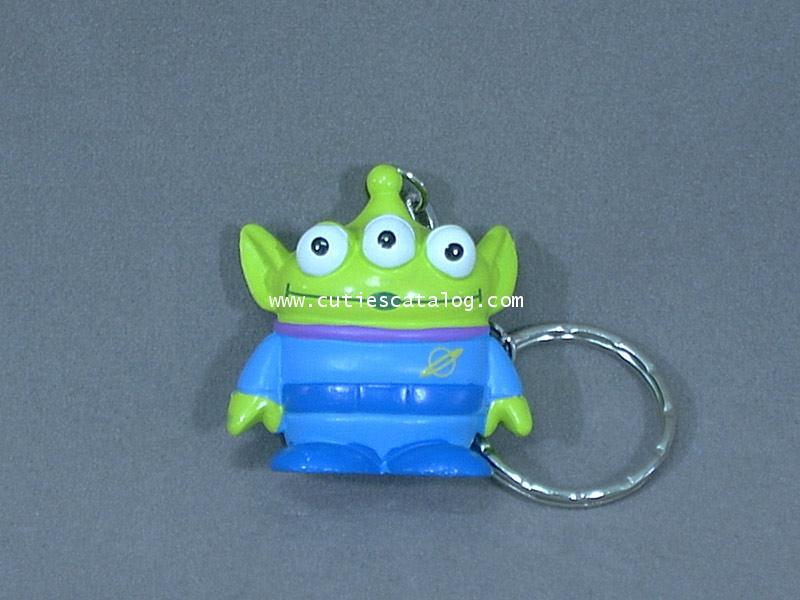 พวงกุญแจตุ๊กตาเอเลี่ยน 3 ตา Aliens @ Toy story