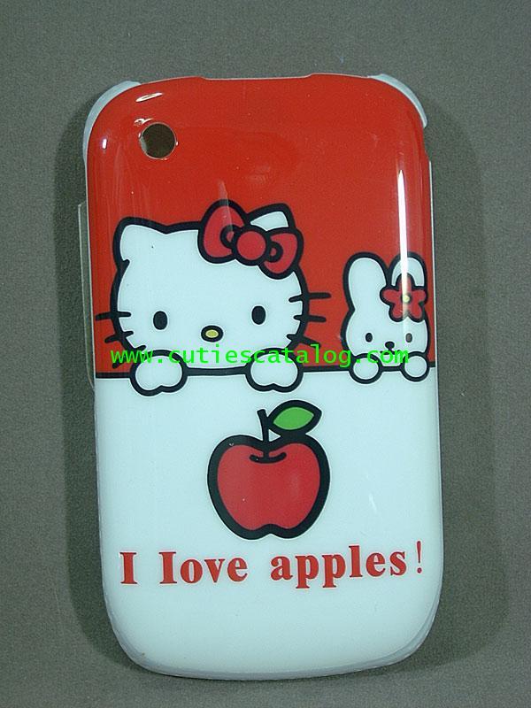 กรอบ บี บีลายคิตตี้ Kitty Blackberry case/cover (หน้ากาก/เคส บีบี) แบบ 4