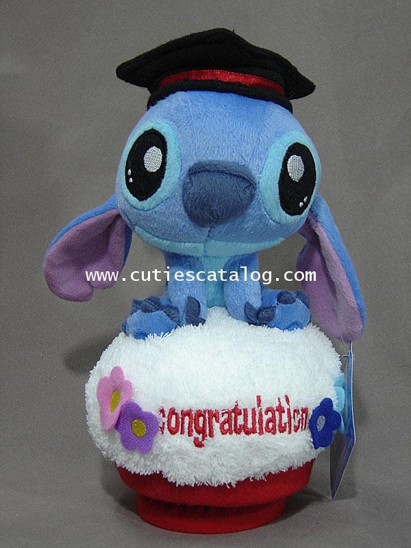 ตุ๊กตาสติช กล่องดนตรี แสดงความยินดีcongratulation(Stitch Doll and Music)