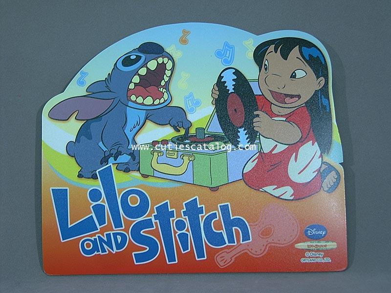 แผ่นรองเมาส์สติช(Stitch mouse pad) แบบ 2