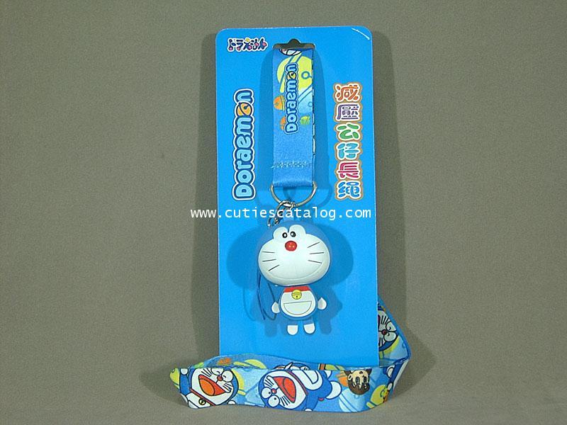 สายห้อยคอโดเรมอน Doraemon แบบหัวยาง