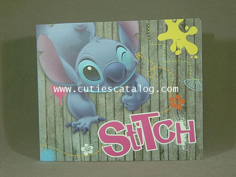 อัลบั้มใส่ ซี ดี ลายสติช Stitch CD case