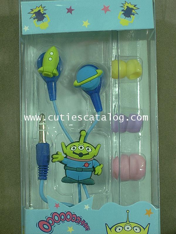 หูฟังเอเลี่ยน 3 ตา จาก ทอย สตอรี่ Alien @ Toy Story earphones