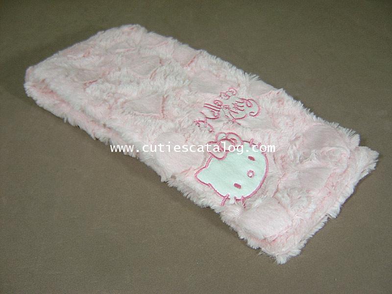 ผ้าพันคอลายคิตตี้ Kitty scarf แบบ 4